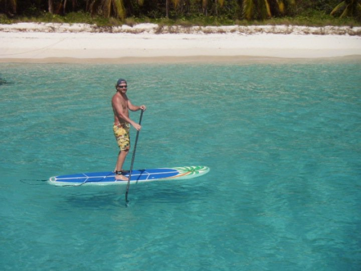 SUP in the BVI